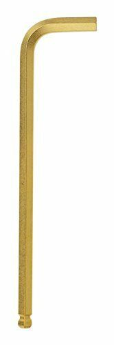 Bondhus 28054 2.5mm Ball End Tip Hex Key L-Wrench GoldGuard Finish, 50 Piece
