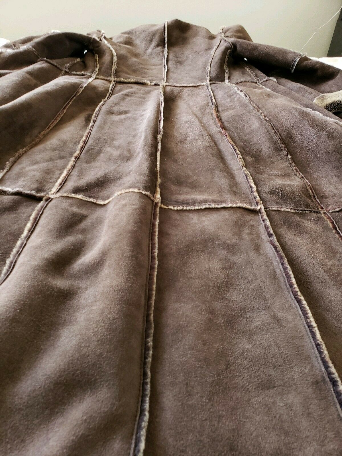 Workshop NY full length shearling coat lightweigh… - image 7