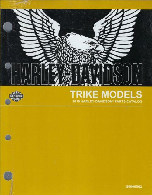 2019 HARLEY-DAVIDSON FLHTCUTG & FLRT TRIKE PARTS CATALOG ...