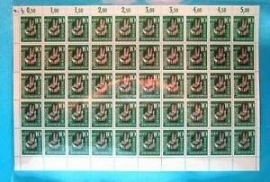 Bund-50er-Bogen-MiNr-239-postfrisch-MNH-gefaltet-BW4230