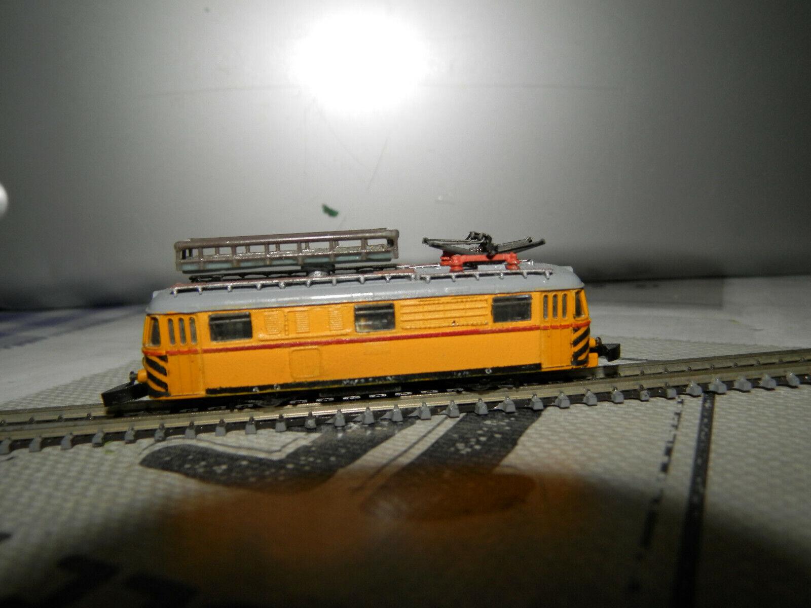 RARE - locomotive for contact network repair Größe- z- 1 220----hand made