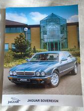 Jaguar Sovereign press photo brochure c1999 No 2