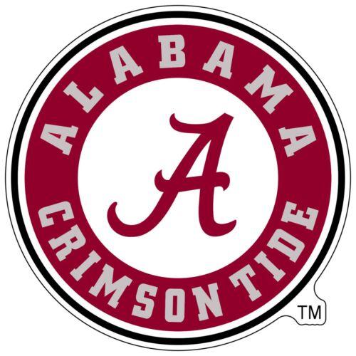 University of Alabama Crimson Tide NCAA Color Die Cut Vinyl Decal Sticker