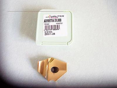 TITEX AX195TiN 16.7mm Carbide Drill Insert TiN Coated