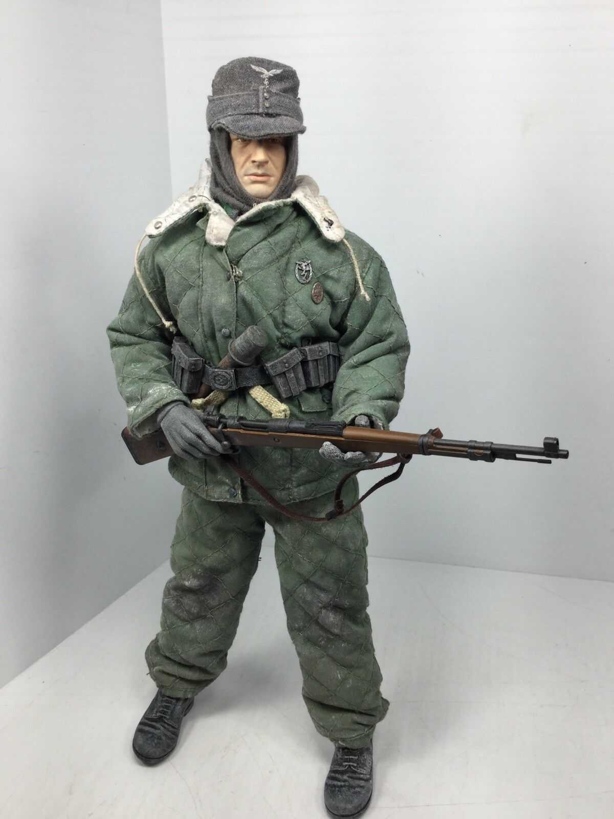 1 6 DRAGON GERMAN LUFTWAFFE FIELD DIV INF SCOUT K-98 EASTERN FRONT DID BBI WW2