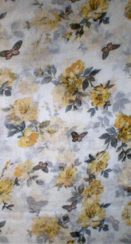 Schlauchschal mit Blumen in 5 Farben XXL Loopschal 180 x 90 cm großer Schal