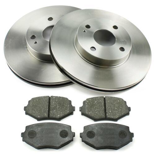 Bremsbeläge vorne 255mm belüftet Mazda MX-5 I NA II NB 1.6 1.8 Bremsscheiben