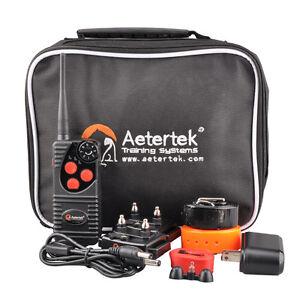 Aetertek-AT-216D-Submersible-Remote-Shock-Dog-Collar-NO-Bark-Training-550M