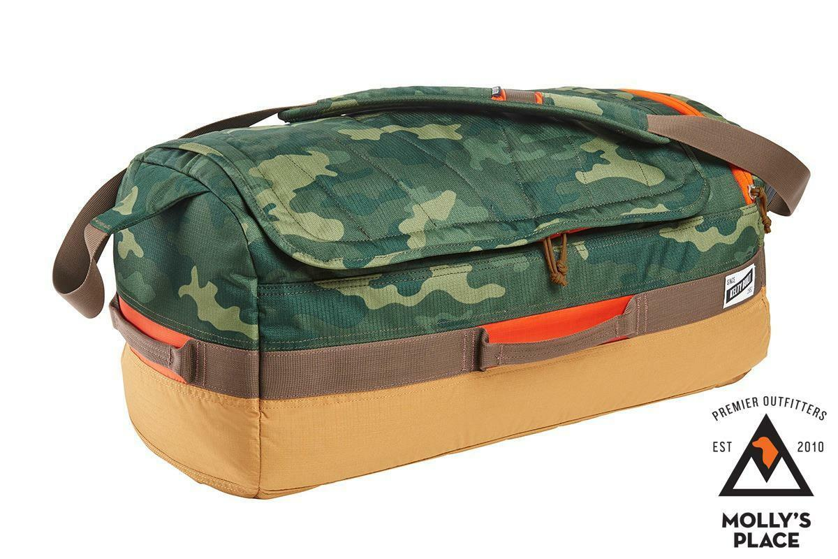 Kelty 24668117GC, Dodger Duffel 40 Liter Bag Grün Camo w Canyon Braun