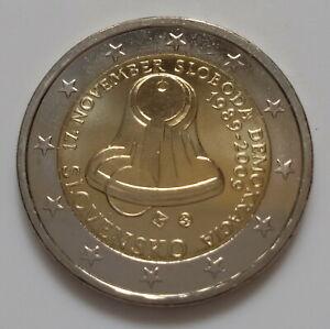 Slovaquie 2009 Révolution de velours pièce de 2 euro commémorative neuve