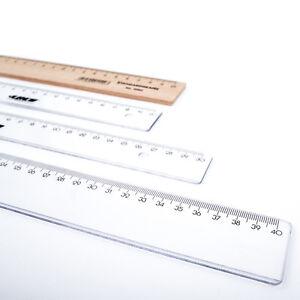 Lineal 20 cm Holz NEU