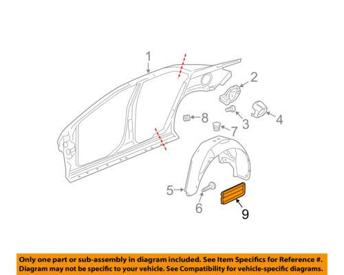 GM OEM Quarter Panel-Pressure Vent 15143604