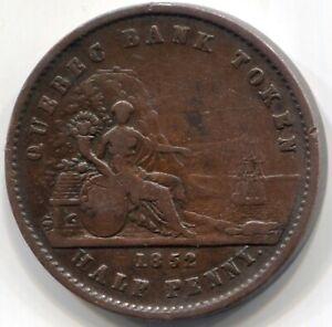1852-PROVINCE-OF-CANADA-HALF-PENNY-QUEBEC-BANK-TOKEN