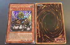 YuGiOh - Theinen The Great Sphinx EP1-EN001 - Ultra Rare worn BUY 3 SAVE 25%