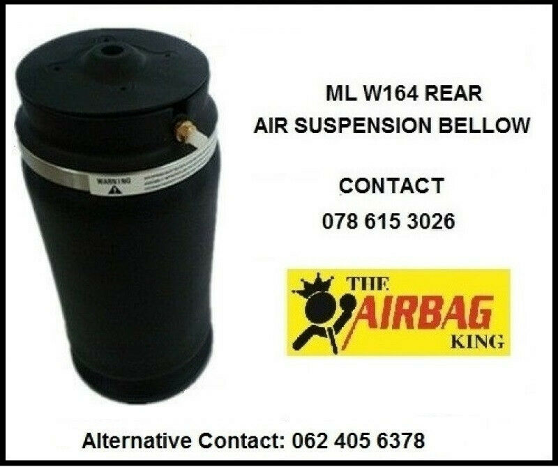 Rear air suspension available for mercedes ml w164 / X166