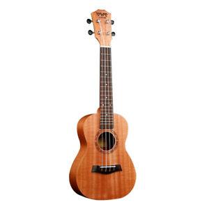 23-Inch-Concert-Full-Kits-Ukulele-Wood-Hawaiian-Four-String-Guitar-Mahogan-M0M4