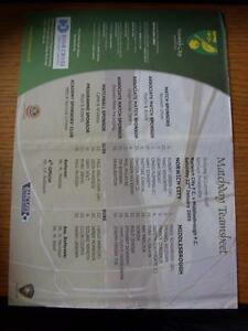 22012005 Colour Teamsheet Norwich City v Middlesbrough  folded - <span itemprop=availableAtOrFrom>Birmingham, United Kingdom</span> - Returns accepted within 30 days after the item is delivered, if goods not as described. Buyer assumes responibilty for return proof of postage and costs. Most purchases from business s - Birmingham, United Kingdom