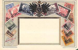 Stamp-Card-Postcard-Showing-German-Postage-Stamps-107966