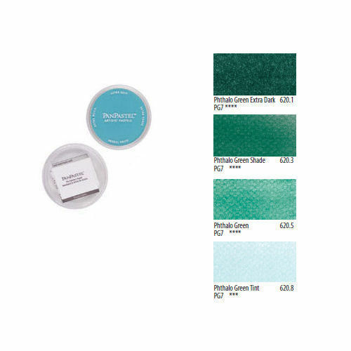 Pan Pastel Artists/' Painting Pastel Phthalo Green Colours