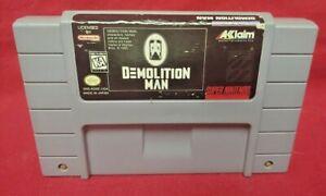 Demolition-Man-Authentic-Super-Nintendo-SNES-Game-Works-Tested
