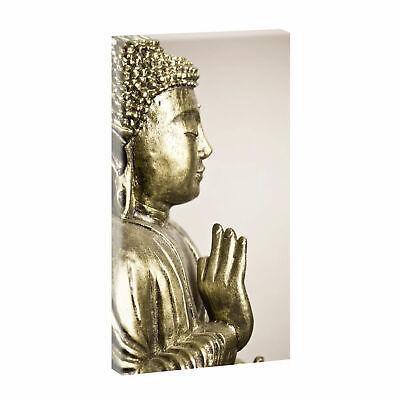 BILD auf LEINWAND  KUNSTDRUCK BILDER WANDBILD Panorama BUDDHA FENG SHUI 643