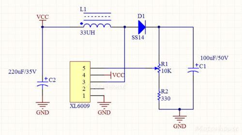DC-DC 4A Boost Converter 3V-32V 12V to 5V-35V 9V 24V Step Up Power Supply Module