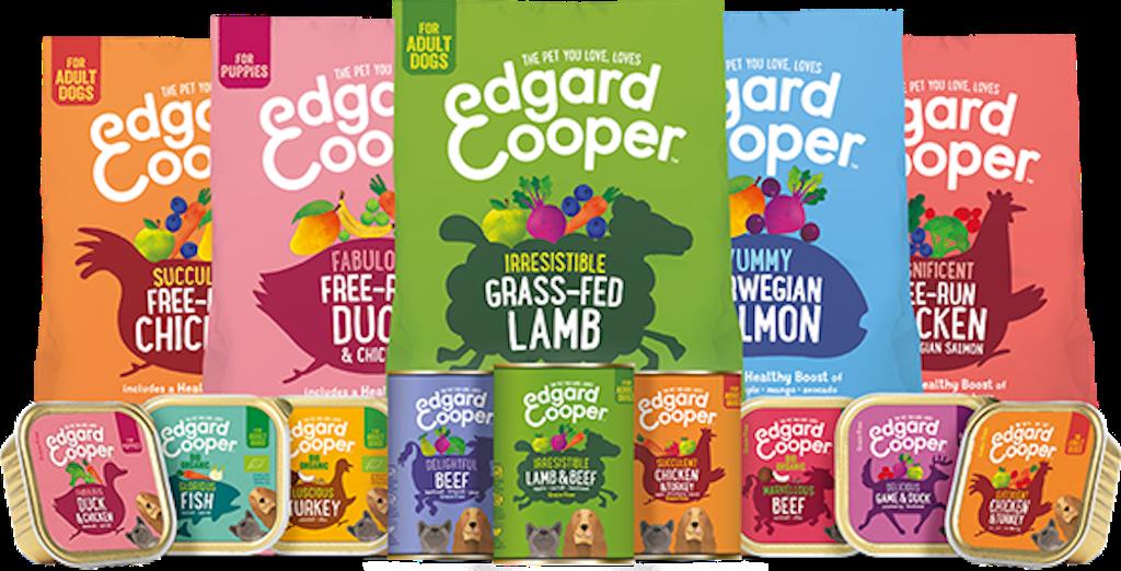 Cibo secco per cani Edgard&Cooper crocchette Grain Free BIO di alta qualità