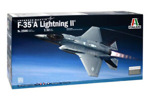 Italeri-2506-1-32-Scale-Model-Aircraft-Kit-Lockheed-Martin-F-35-A-Lightning-II