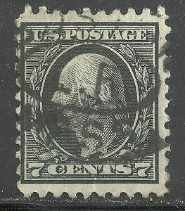 Image Is Loading U S Stamp Scott 430 7 Cent Washington Issue