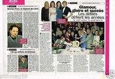 Coupure de presse  Clipping 1997 (1 page 1/3) Amour Gloire et Beauté
