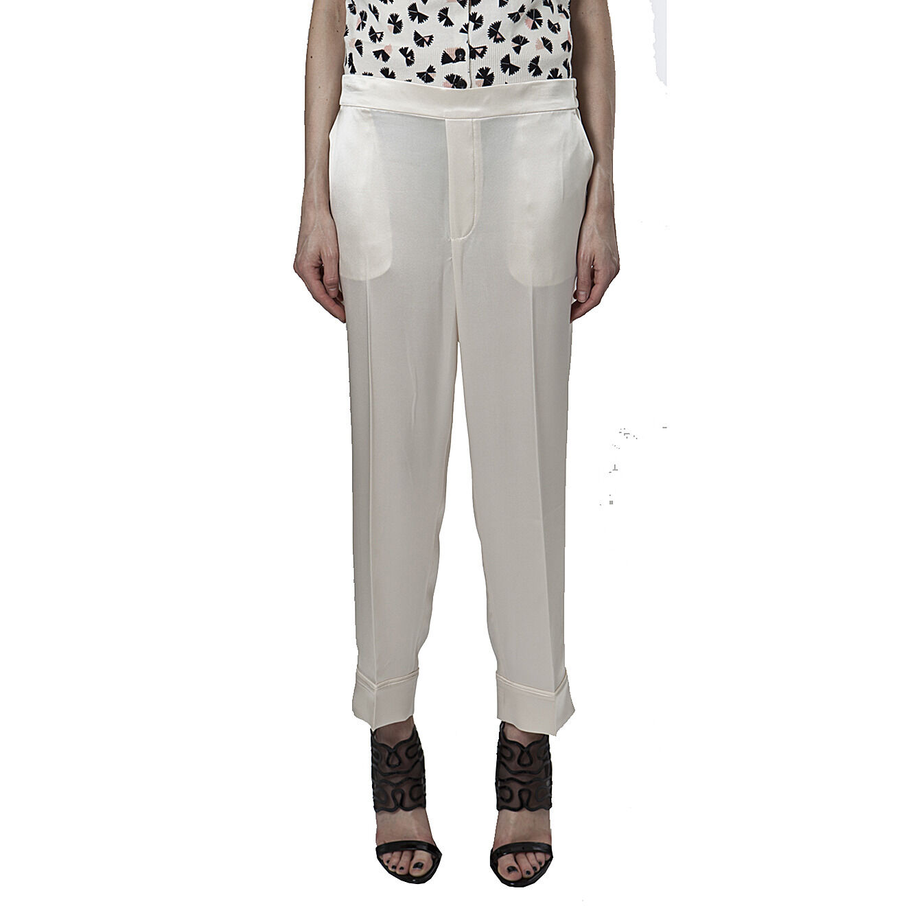 Marc by Marc Jacobs Pantalone crepe Julee, Julee creepe pants