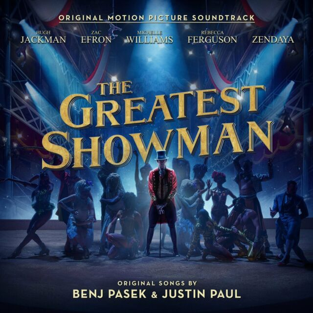 THE GREATEST SHOWMAN SOUNDTRACK CD (New Release 8/12/2017)