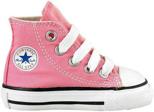 8f8ce7ee6511 Converse Chuck Taylor All Star Hi Pink White Infant Toddler Girl ...