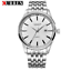 Curren-8052D-1-Silver-White-Stainless-Steel-Watch thumbnail 1