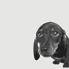 DACHSHUND SMOOTH GERMAN SAUSAGE DOG FINE ART PRINT - Daxi - Dax