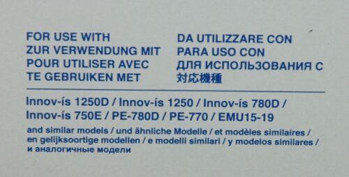 "Brother EF83 Small//Medium 4/"" x 4/"" Embroidery Hoop for  750e  1250e F440E F480"