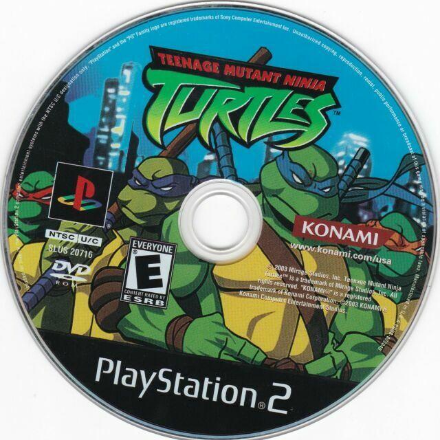 Teenage Mutant Ninja Turtles Sony Playstation 2 2003 For Sale Online Ebay