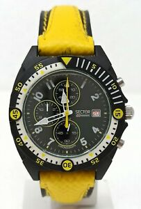 Orologio Sector expander 102 vintage watch chrono clock diver 100 meters montre