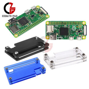 Details about Raspberry pi Zero Case Pi0 V1 1/W Version Camera Connector  board 1GHz +Bluetooth