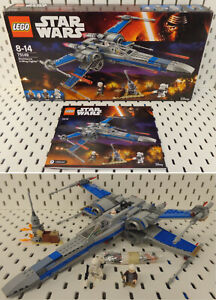 Game-Gioco-Mattoncini-LEGO-Star-Wars-2016-Set-75149-Resistance-X-Wing-Fighter