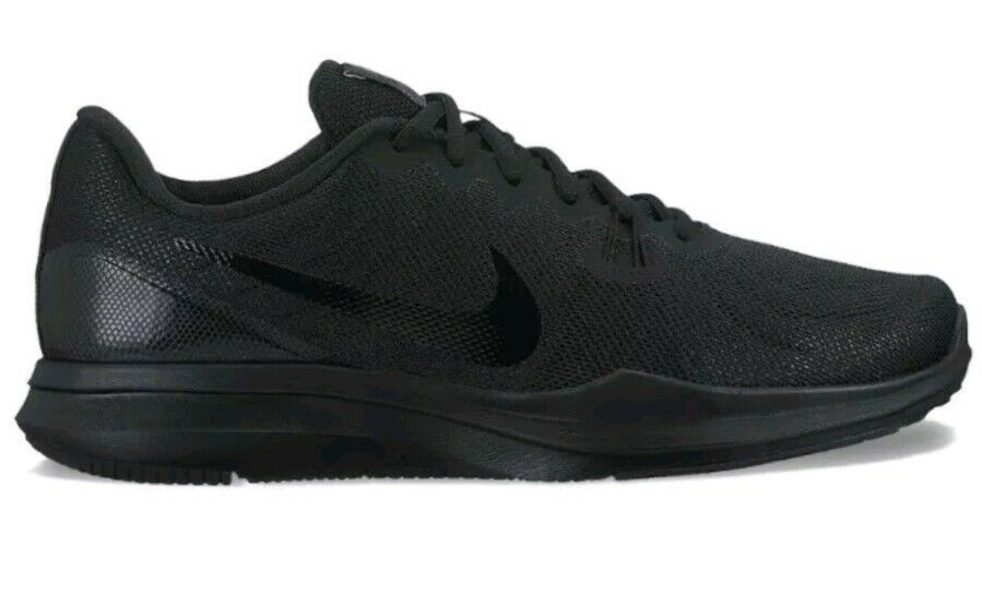 New Nike In Season TR 7 Trainers Womens sz 10 Sneakers Triple Black 922929 002
