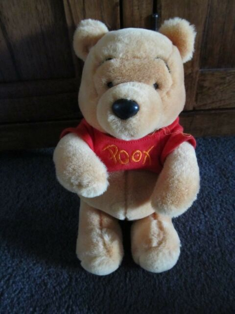WINNIE the POOH.....stunning soft toy of WINNIE THE POOH....Disney