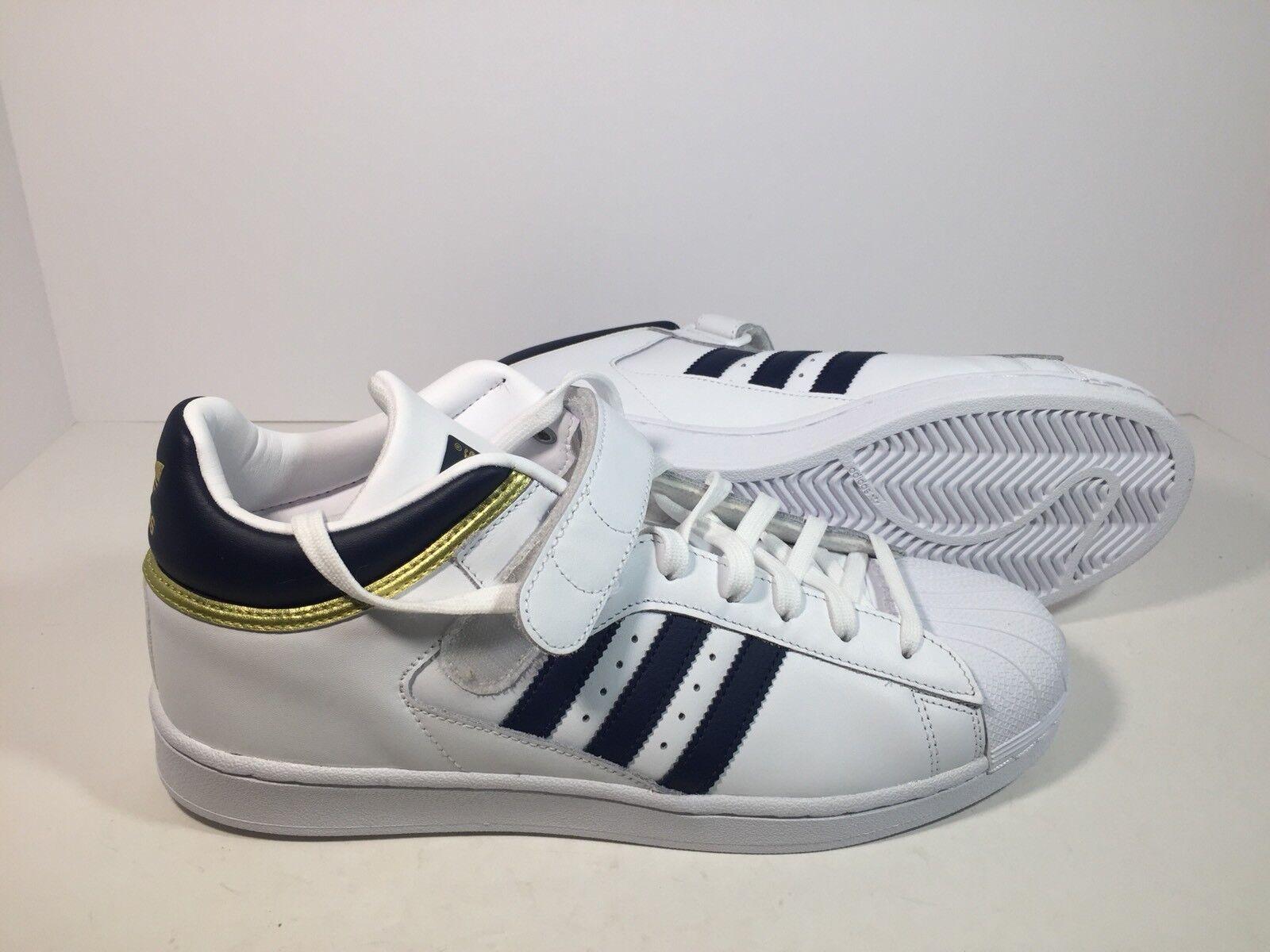 new concept b5490 de2b1 Adidas schuhe originals weiß   marine gold pro shell Turnschuhe, schuhe  Adidas by4383 mens. 50783c
