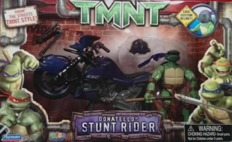 Teenage Mutant Ninja Turtles Stunt Rider cycle 5