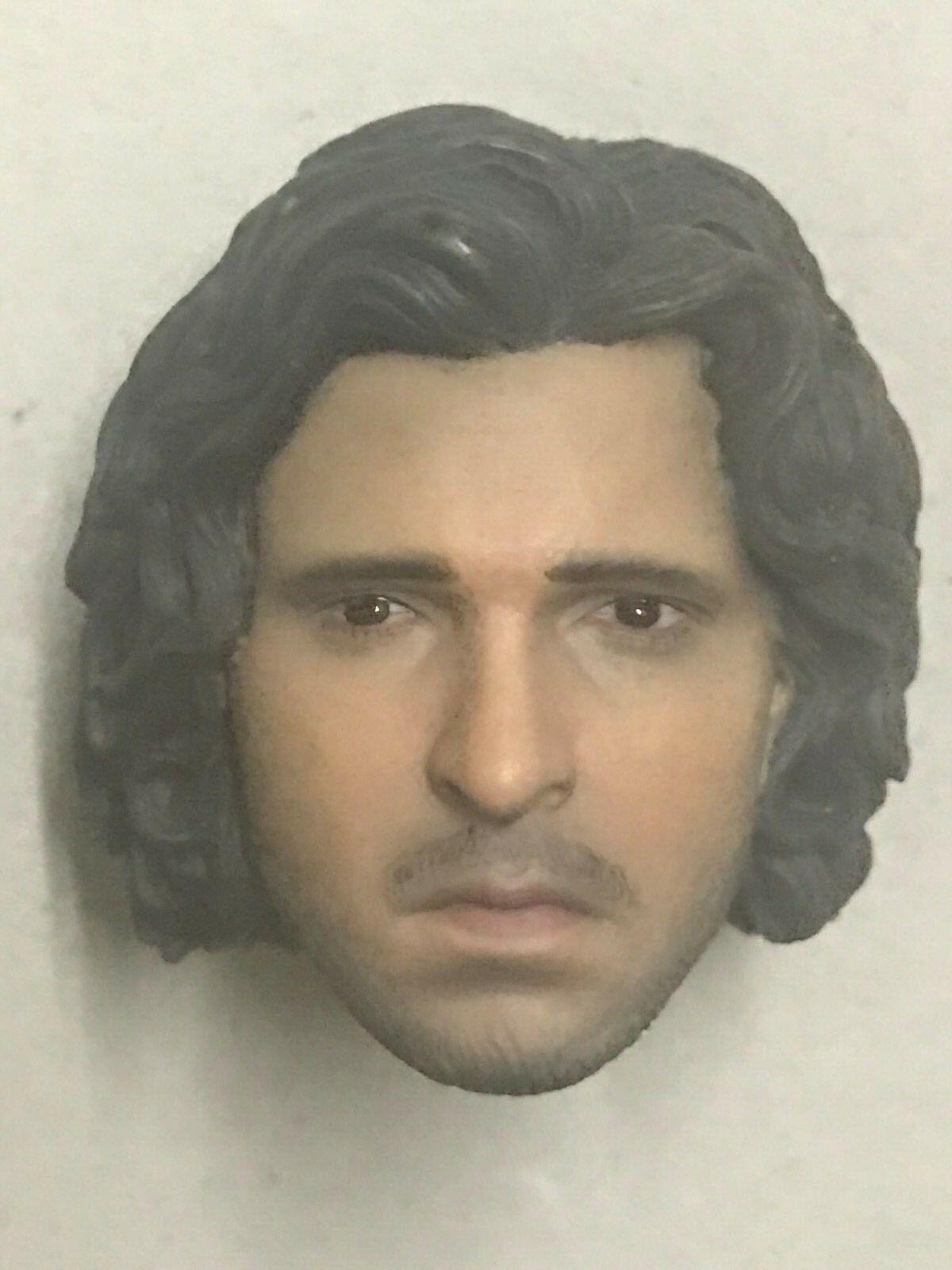 ThreeZero Game of Thrones Jon Snow - 1 6th  scale head sculpt  prix de gros