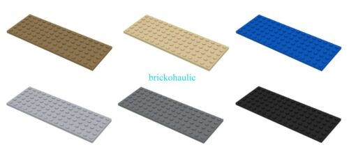Lego Plate 6 x 16 Parts Pieces Lot Building Blocks ALL COLORS