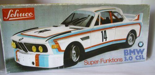 Repro Box Schuco Super Funktions BMW 3,0 CSL