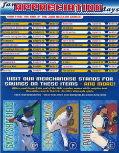 2001-Los-Angeles-Dodger-Fan-Appreciation-Sheet-w-3-card