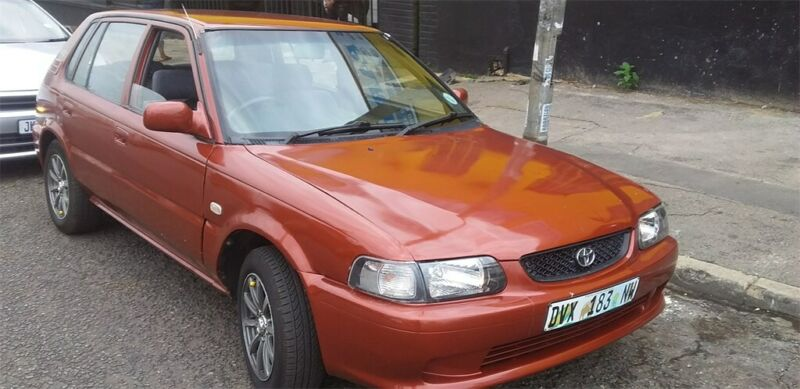 2005 Toyota Tazz 160 XE,  with 130000km available now!