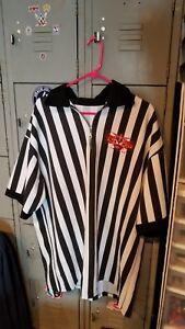 Vintage-WCW-Nitro-Grill-referee-shirt-Las-Vegas-2XL-Authentic-WWE-WWF-NWO-NXT